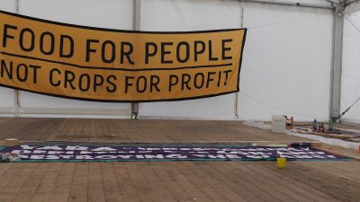 Free the Soil Banner