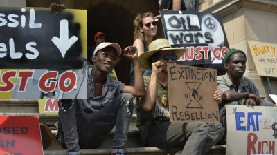 Global Justice Rebellion activists