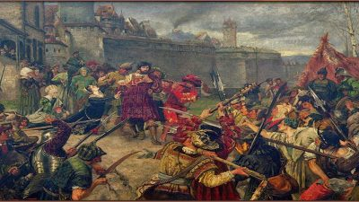 'The Murder of Count Helfenstein' during the German Peasants' Revolt (Credit: WikiCommons)