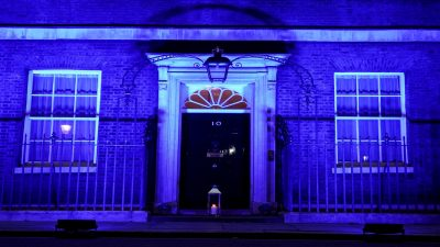 No10 Downing Street NHS 72 Year Anniversary
