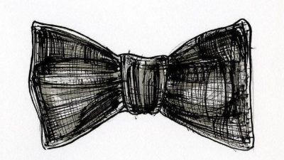 lllustration of a bow tie