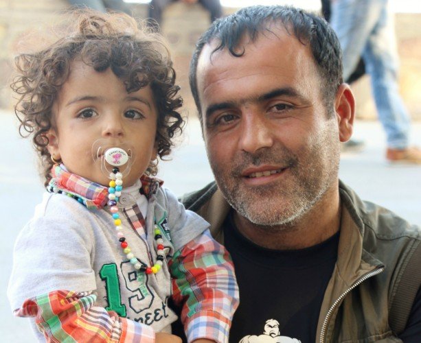 Kurdish Father & Child