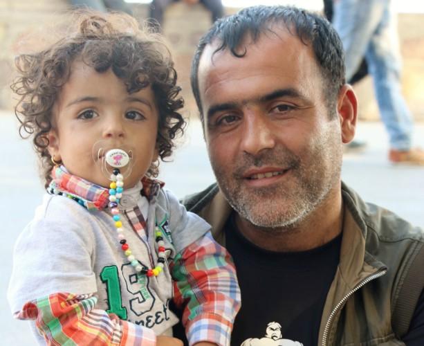 Kurdish Father & Child